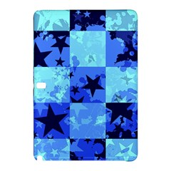 Blue Star Checkers Samsung Galaxy Tab Pro 10 1 Hardshell Case