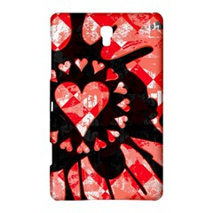 Love Heart Splatter Samsung Galaxy Tab S (8 4 ) Hardshell Case  by ArtistRoseanneJones