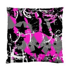 Pink Scene Kid Cushion Case (single Sided)  by ArtistRoseanneJones