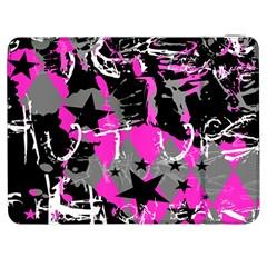 Pink Scene Kid Samsung Galaxy Tab 7  P1000 Flip Case by ArtistRoseanneJones