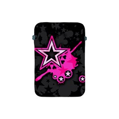 Pink Star Graphic Apple Ipad Mini Protective Sleeve by ArtistRoseanneJones
