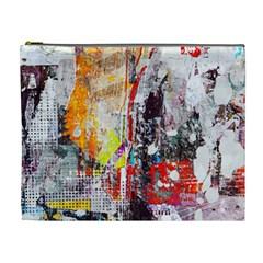 Abstract Graffiti Cosmetic Bag (XL) by ArtistRoseanneJones
