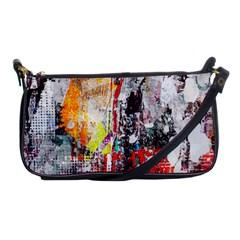 Abstract Graffiti Evening Bag by ArtistRoseanneJones