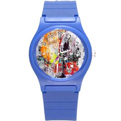 Abstract Graffiti Plastic Sport Watch (small) by ArtistRoseanneJones