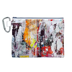 Abstract Graffiti Canvas Cosmetic Bag (Large) by ArtistRoseanneJones