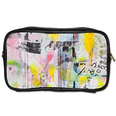 Graffiti Graphic Travel Toiletry Bag (two Sides) by ArtistRoseanneJones