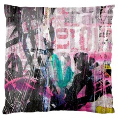 Graffiti Grunge Love Standard Flano Cushion Case (two Sides) by ArtistRoseanneJones