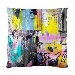 Graffiti Pop Cushion Case (two Sided)  by ArtistRoseanneJones