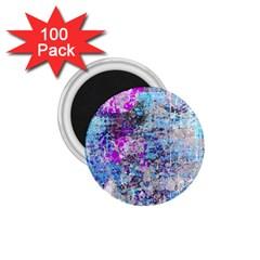 Graffiti Splatter 1 75  Button Magnet (100 Pack) by ArtistRoseanneJones