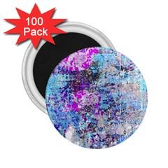 Graffiti Splatter 2 25  Button Magnet (100 Pack) by ArtistRoseanneJones