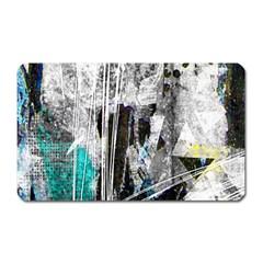 Urban Funk Magnet (rectangular) by ArtistRoseanneJones