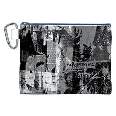 Urban Graffiti Canvas Cosmetic Bag (xxl) by ArtistRoseanneJones