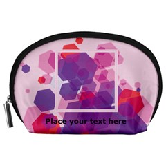 Abstract Pouch (l) By Joy   Accessory Pouch (large)   37louu9ir6a0   Www Artscow Com Front