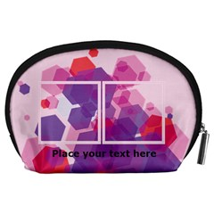 Abstract Pouch (l) By Joy   Accessory Pouch (large)   37louu9ir6a0   Www Artscow Com Back