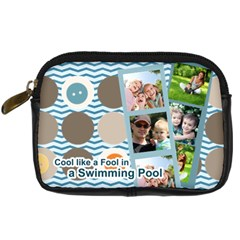 Summer By Summer Time    Digital Camera Leather Case   Y9mbsa4ckdd4   Www Artscow Com Front
