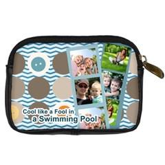 Summer By Summer Time    Digital Camera Leather Case   Y9mbsa4ckdd4   Www Artscow Com Back