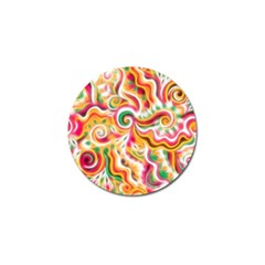 Sunshine Swirls Golf Ball Marker 10 Pack by KirstenStar