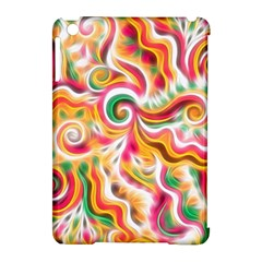 Sunshine Swirls Apple Ipad Mini Hardshell Case (compatible With Smart Cover) by KirstenStar