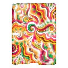 Sunshine Swirls Samsung Galaxy Tab S (10 5 ) Hardshell Case  by KirstenStar