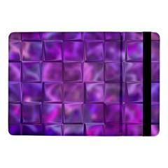 Purple Squares Samsung Galaxy Tab Pro 10 1  Flip Case by KirstenStar