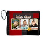 back to school  - Canvas Cosmetic Bag (XL)