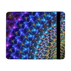 Blue Sunrise Fractal Samsung Galaxy Tab Pro 8 4  Flip Case by KirstenStar