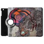 Textured African design Apple iPad Mini Flip 360 Case