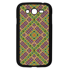 Multicolor Geometric Ethnic Seamless Pattern Samsung Galaxy Grand Duos I9082 Case (black) by dflcprints