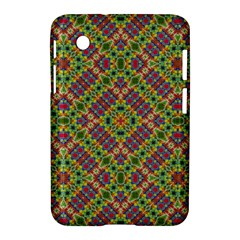 Multicolor Geometric Ethnic Seamless Pattern Samsung Galaxy Tab 2 (7 ) P3100 Hardshell Case  by dflcprints