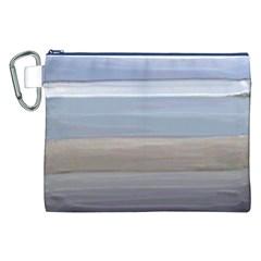 Painted Pompey Beach Canvas Cosmetic Bag (xxl) by DeneWestUK