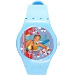 summer - Round Plastic Sport Watch (M)