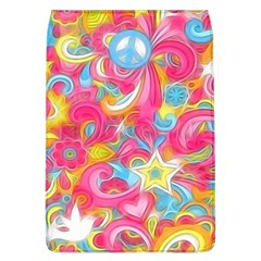 Hippy Peace Swirls Removable Flap Cover (L) by KirstenStar