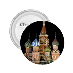 Saint Basil s Cathedral  2 25  Button by anstey