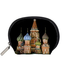 Saint Basil s Cathedral  Accessory Pouch (small) by anstey