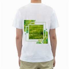 Abstract Two Sided (men) By Joy   Men s T Shirt (white) (two Sided)   Gislexti8k74   Www Artscow Com Back