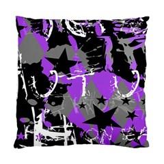 Purple Scene Kid Cushion Case (single Sided)  by ArtistRoseanneJones