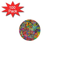 Colorful Autumn 1  Mini Button (100 Pack) by KirstenStar