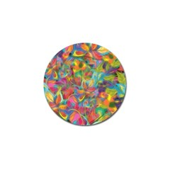 Colorful Autumn Golf Ball Marker by KirstenStar