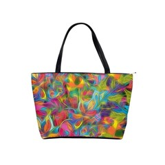 Colorful Autumn Large Shoulder Bag by KirstenStar