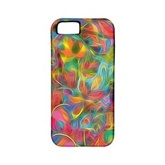 Colorful Autumn Apple Iphone 5 Classic Hardshell Case (pc+silicone) by KirstenStar