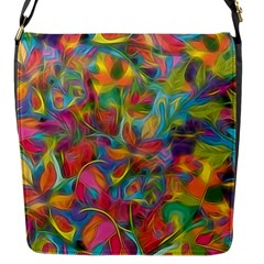 Colorful Autumn Flap Closure Messenger Bag (small) by KirstenStar