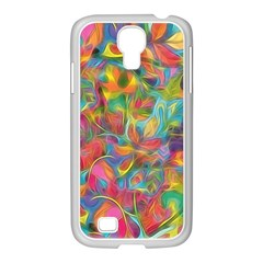 Colorful Autumn Samsung Galaxy S4 I9500/ I9505 Case (white) by KirstenStar