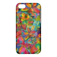 Colorful Autumn Apple iPhone 5C Hardshell Case by KirstenStar
