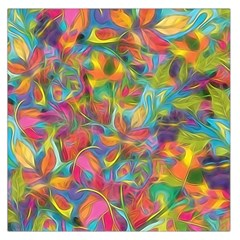 Colorful Autumn Large Satin Scarf (square) by KirstenStar