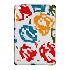 Colorful Paint Stokes Apple Ipad Mini Hardshell Case (compatible With Smart Cover) by LalyLauraFLM