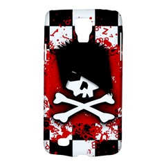 Emo Skull Samsung Galaxy S4 Active (i9295) Hardshell Case by ArtistRoseanneJones