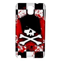 Emo Skull Samsung Galaxy Note 3 N9005 Hardshell Case by ArtistRoseanneJones