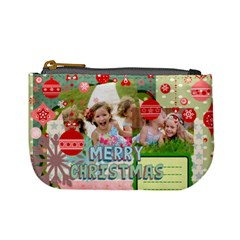 Xmas By Xmas   Mini Coin Purse   E50m4n67j7bn   Www Artscow Com Front