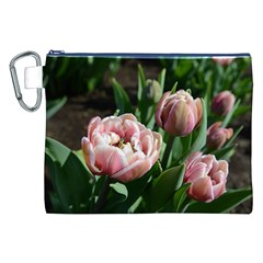 Tulips Canvas Cosmetic Bag (xxl) by anstey