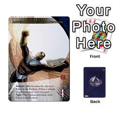 20 By Matt Trudgen   Playing Cards 54 Designs   7wcxbrydpq3e   Www Artscow Com Front - Spade8